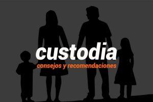 consejos recomendaciones custodia hijos imagen